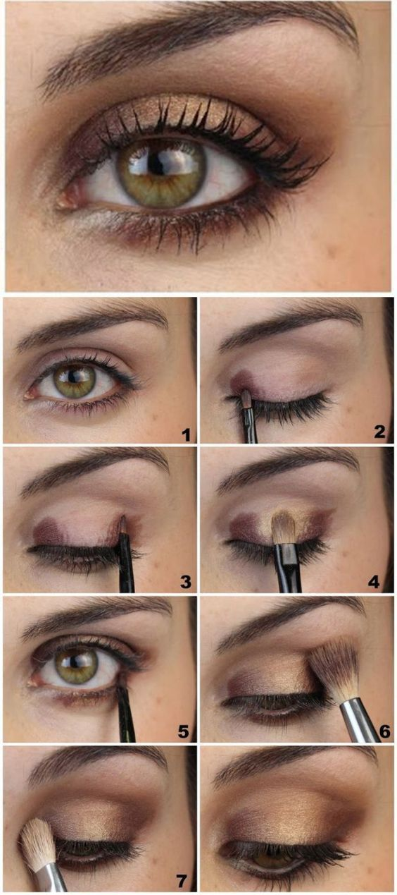 ... stylish brown eye makeup tutorial makeup ...