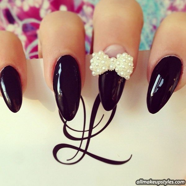 16 Adorable Bow Nail Designs For Women Styles Weekly