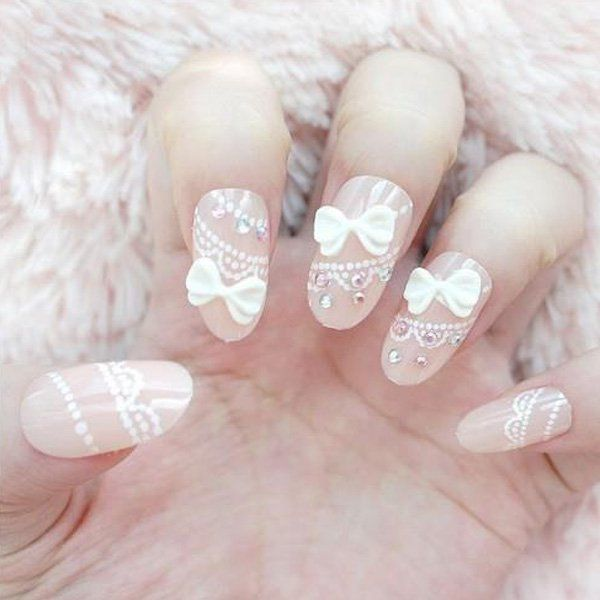 16 Adorable Bow Nail Designs for Women | Styles Weekly