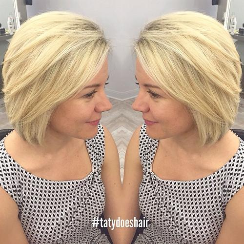 Pretty Bobs for Mid-length Hair