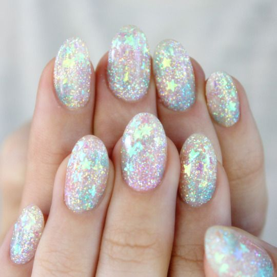 Beautiful Star Nail Design