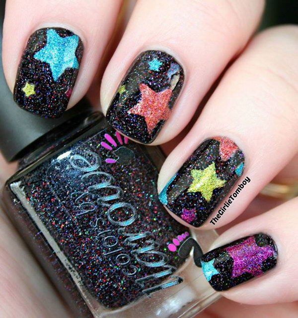 Star Nail - 17 Stunnig Star Nail Designs For Fashionistas Styles Weekly