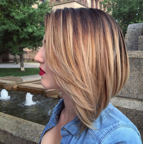 20 Hottest Pink Red Ombre Hairstyles For Medium Amp Long