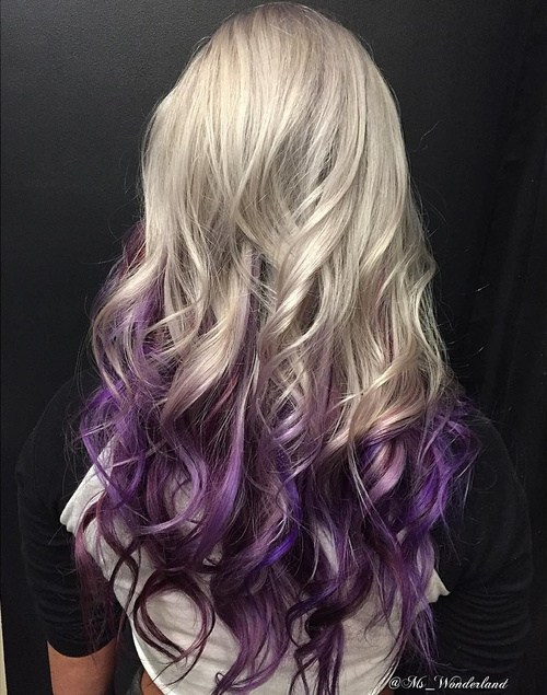 22 Lavender Ombre Hairstyles for the Season