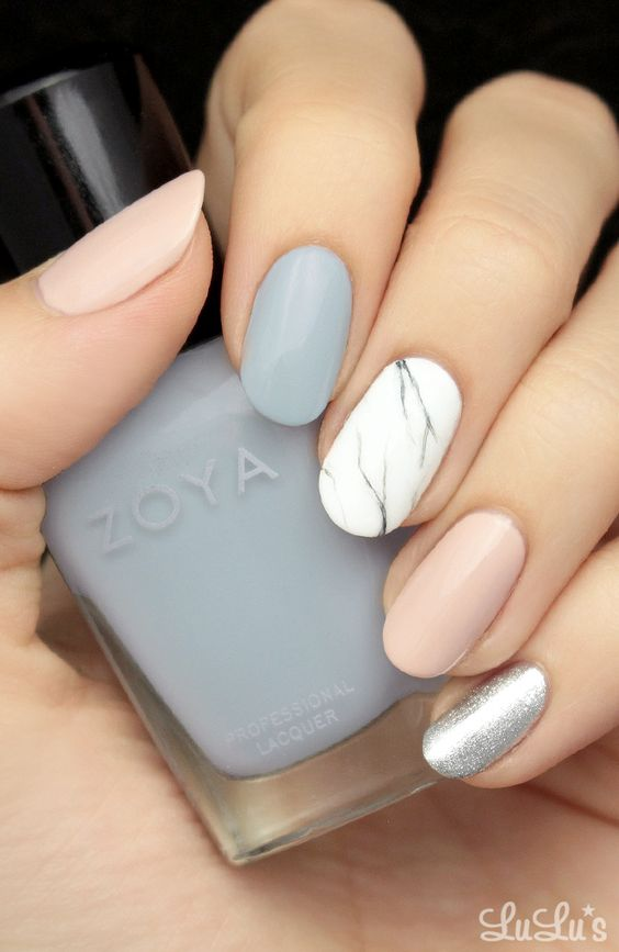 17 Fashionable Office Nail Designs | Styles Weekly