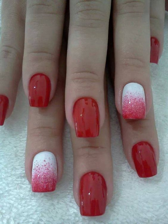 Red Nail Design for Women / via - 17 Different Red Nail Designs For All Women Styles Weekly