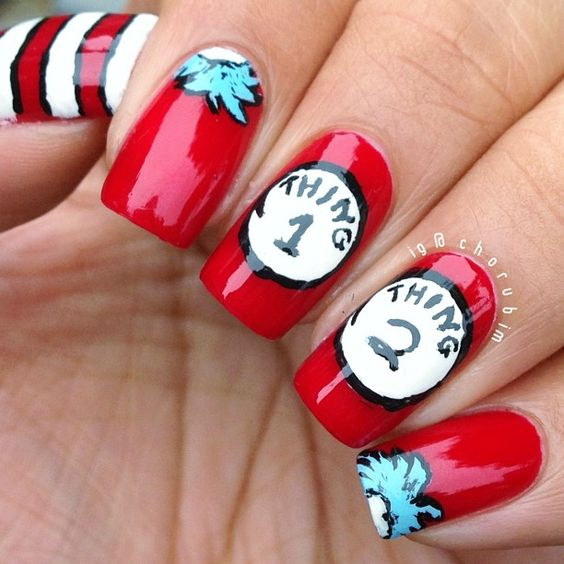 Cute Red Nail Design - 17 Different Red Nail Designs For All Women Styles Weekly