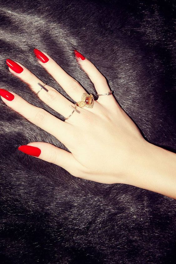 17 Different Red Nail Designs For All Women Styles Weekly