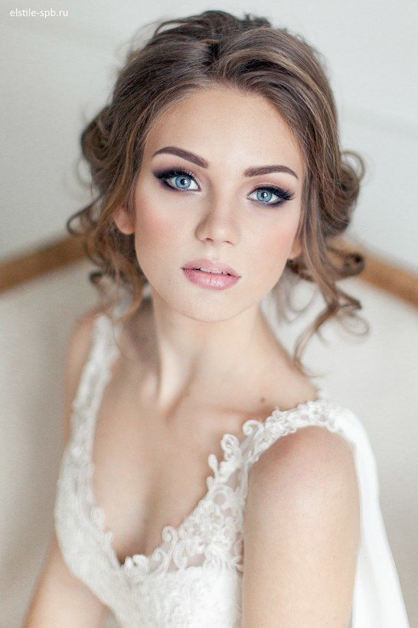 Super 20 Gorgeous Bridal Hairstyle And Makeup Ideas For Women Styles Hairstyles For Women Draintrainus