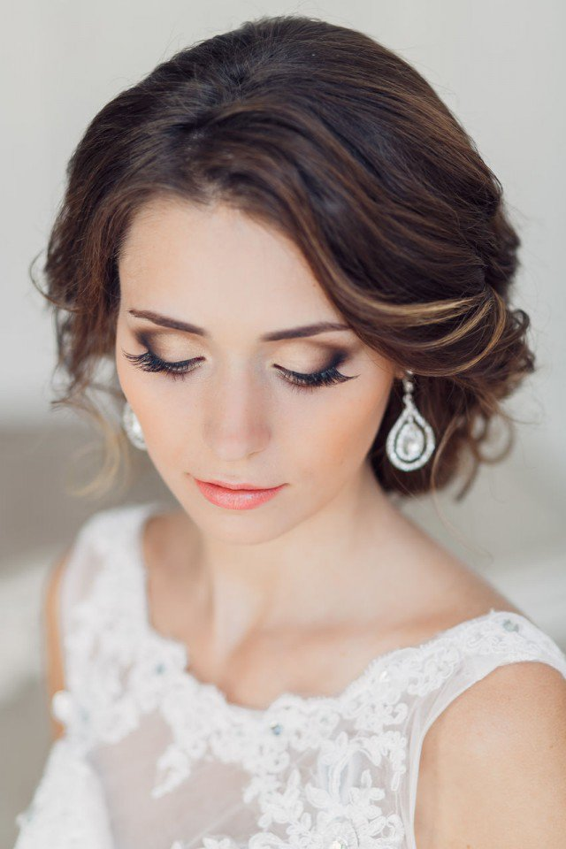 20 Gorgeous Bridal Hairstyle and Makeup Ideas for 2016