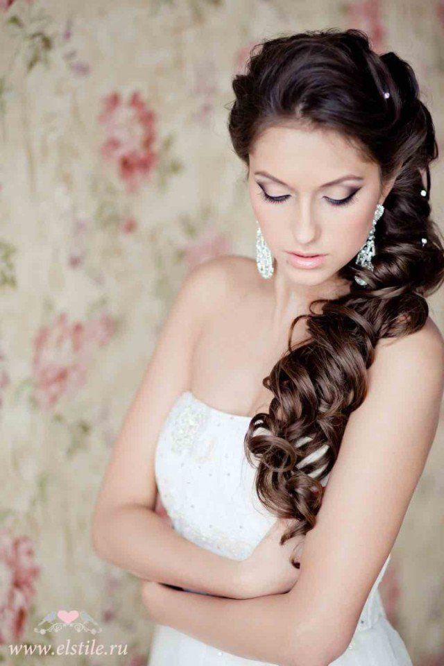 Miraculous 20 Gorgeous Bridal Hairstyle And Makeup Ideas For Women Styles Hairstyles For Women Draintrainus