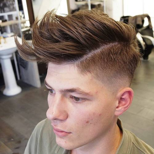 Fancy Quiff Hairstyles for Men