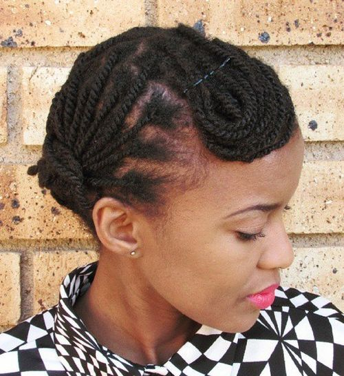 Funny Twisted Hairstyles