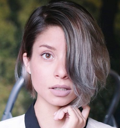 Ideas to Have Sliver and White Highlighted Hair Looks