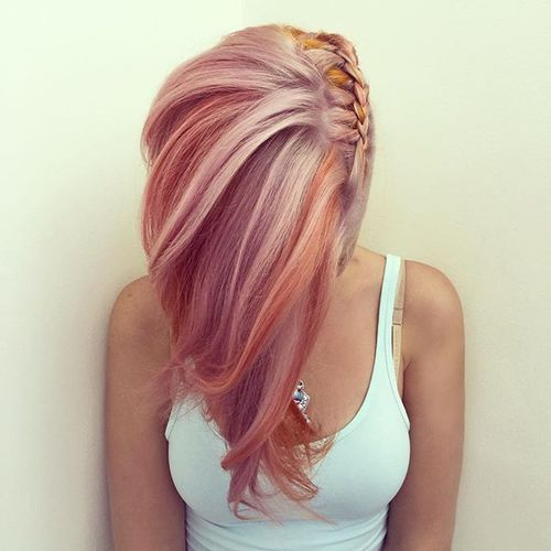 Pink Hairstyles to Rock Your Spring