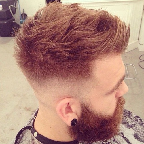 Popular Faux Hawk Hairstyles for Men