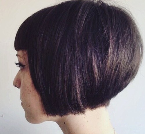 Pretty Stacked Hairstyles You Will Love this Year