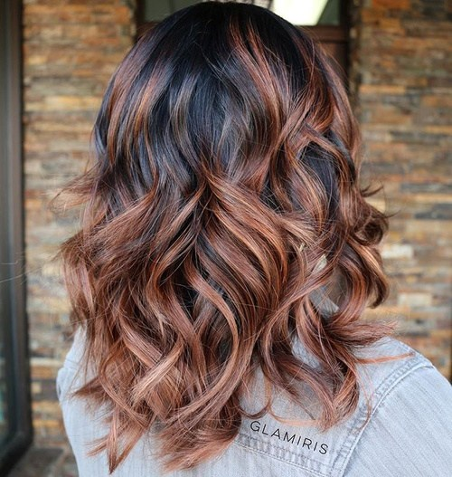 Ways to Style Pretty Two-tone Hairstyles