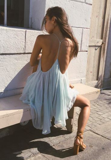 Backless Dress