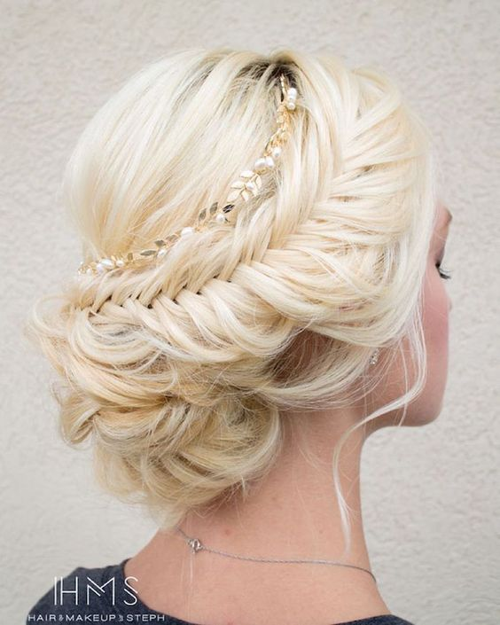 Beautiful Hairstyles Design : Beautiful wedding updo hairstyles styles weekly