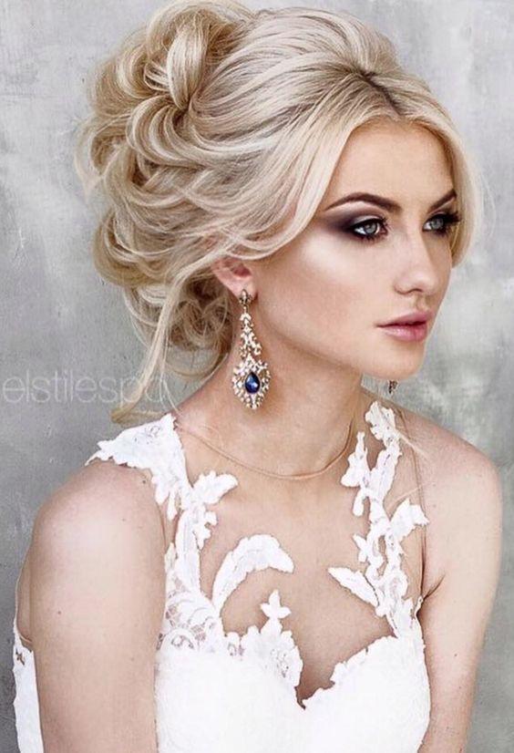 Peachy 15 Beautiful Wedding Updo Hairstyles Styles Weekly Short Hairstyles Gunalazisus