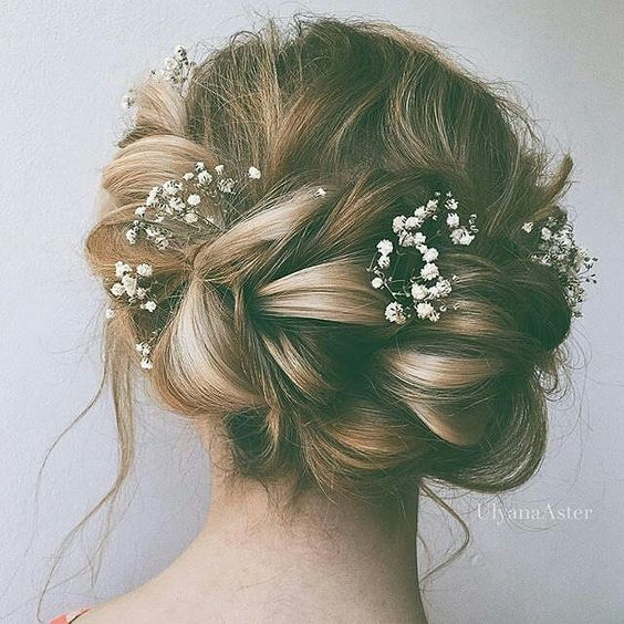 15 beautiful wedding updo hairstyles styles weekly romantic wedding updo hairstyle junglespirit Images