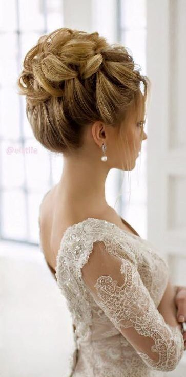 15 Beautiful Wedding Updo Hairstyles Styles Weekly