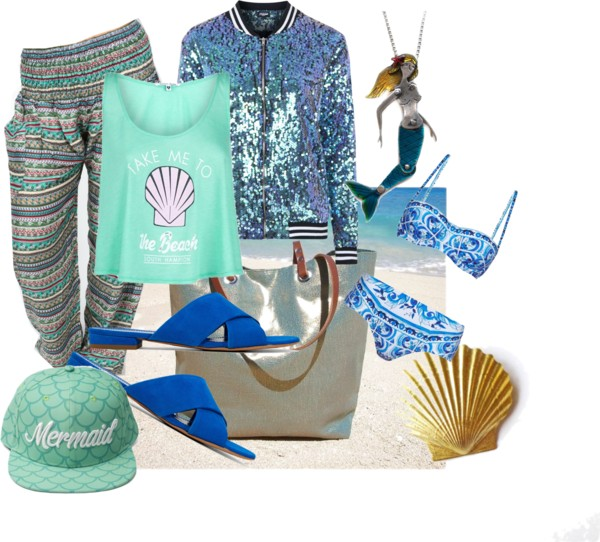 10 Outfits To Make You Look Like A Mermaid For Summer