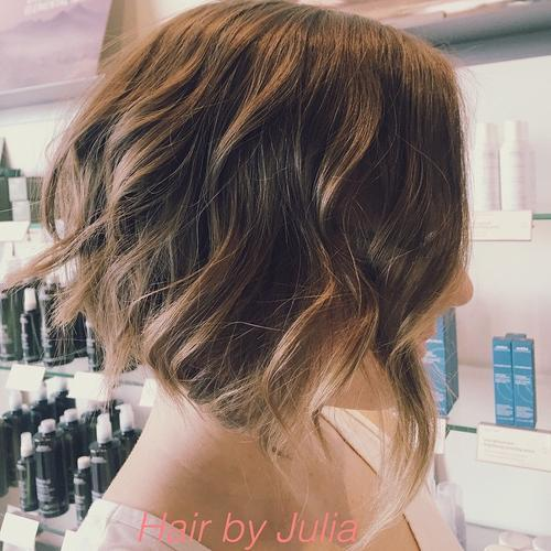 20 Stylish Wavy Bobs for Girls