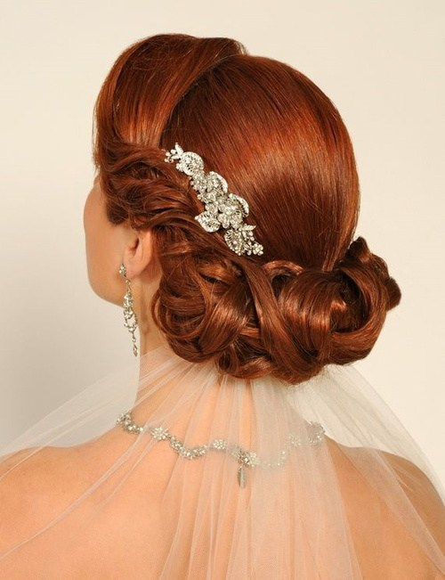 20 Wedding Hairstyles for Curly Hair