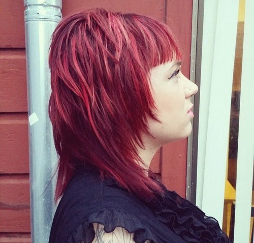 22 Sassy Shag Haircuts for Women
