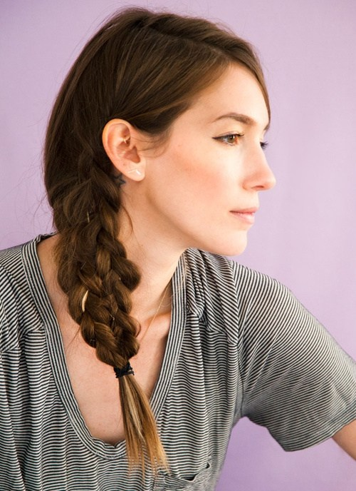 20 Gorgeous and Glam Side Braid Ideas