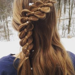 22 Pretty Up Do Ideas for Teenage Girls