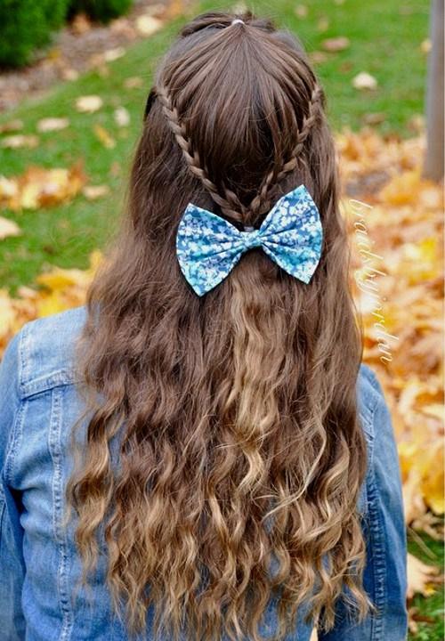 22 Pretty Braided Hair Ideas for Teenage Girls