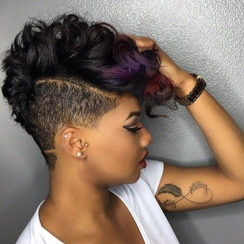 Cool 23 Pretty Hairstyles For Black Women African American Hair Ideas Hairstyles For Men Maxibearus