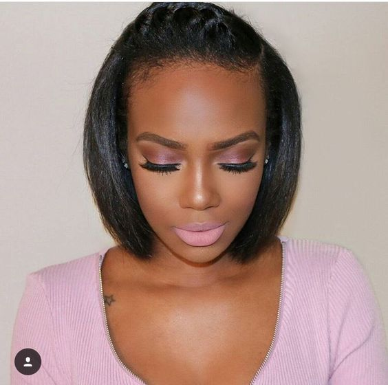 Sensational 23 Pretty Hairstyles For Black Women African American Hair Ideas Hairstyle Inspiration Daily Dogsangcom