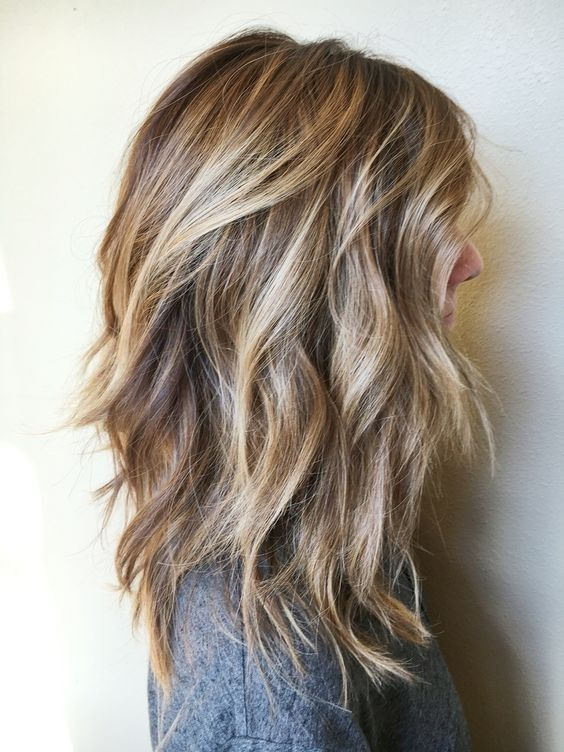 hair styling ideas for medium length hair 15 balayage medium hairstyles balayage hair color ideas 6796