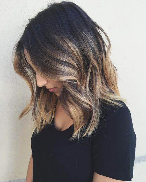 hair color and styles for medium length hair 15 balayage medium hairstyles balayage hair color ideas 7472