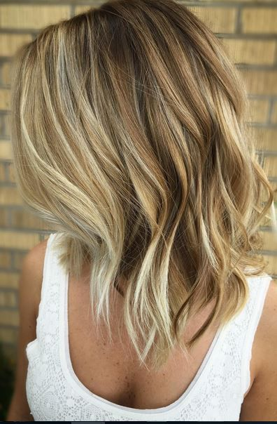 styling ideas for shoulder length hair 15 balayage medium hairstyles balayage hair color ideas 8667