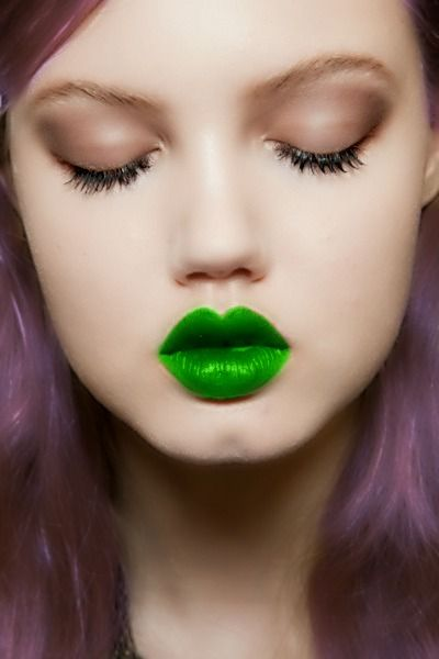 How to Rock Odd-Colored Lipstick