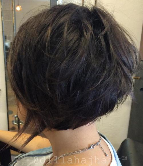 Short Shag Hairstyles5 Pictures to Pin on Pinterest