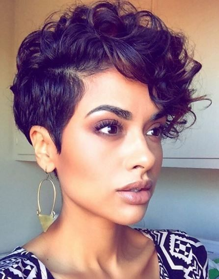 21 Fabulous Short Curly Pixie Cuts & Wavy Pixie Cuts for Women