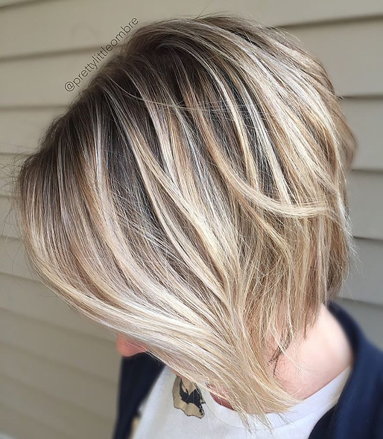 short-hairstyle-with-long-front-layers | Styles Weekly