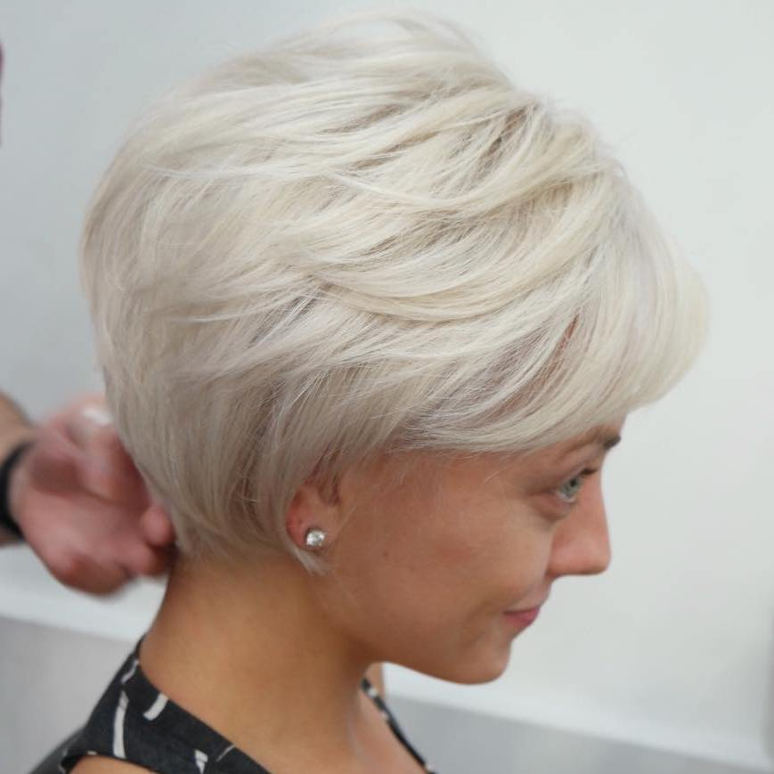 short-blonde-haircut-for-fine-hair | Styles Weekly