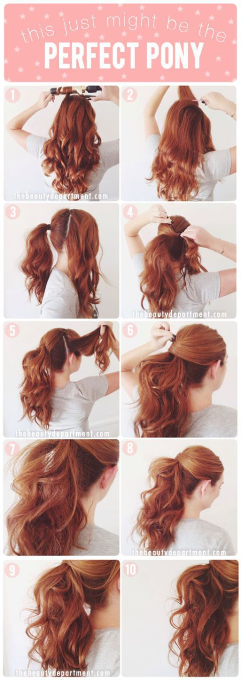 11 Easy Step by Step Updo Tutorials for Beginners – Hair Wrap ...