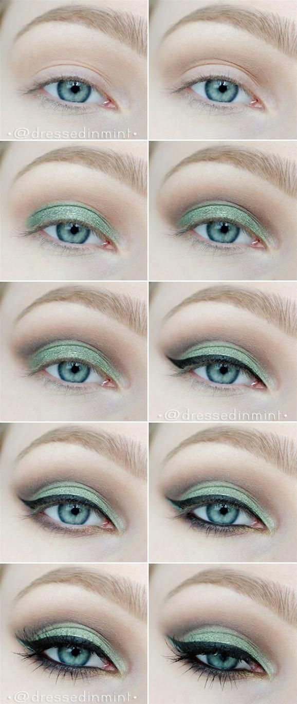 10 Makeup Tutorials Step By Step Makeup Tutorials For Green Eyes
