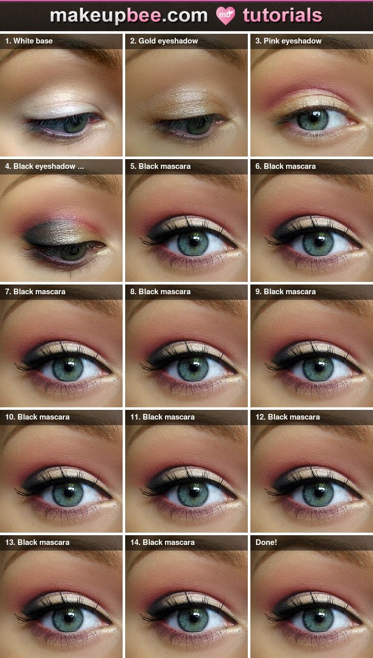 Step By Step Diagram Template: 25 Easy Step By Step Makeup Tutorials For Teens