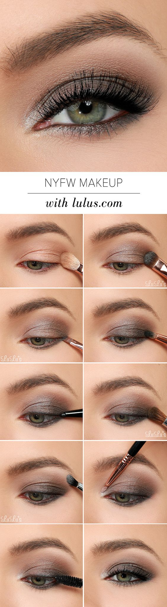How To Make Gorgeous Grey Smokey Eye?