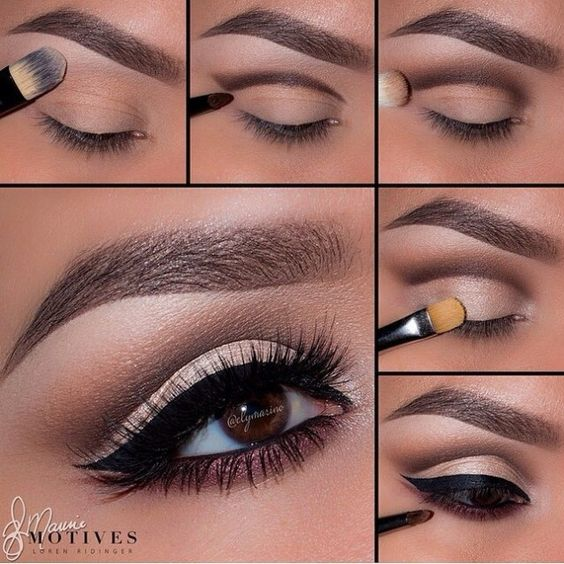 15 Step By Step Smoky Eye Makeup Tutorials For Beginners