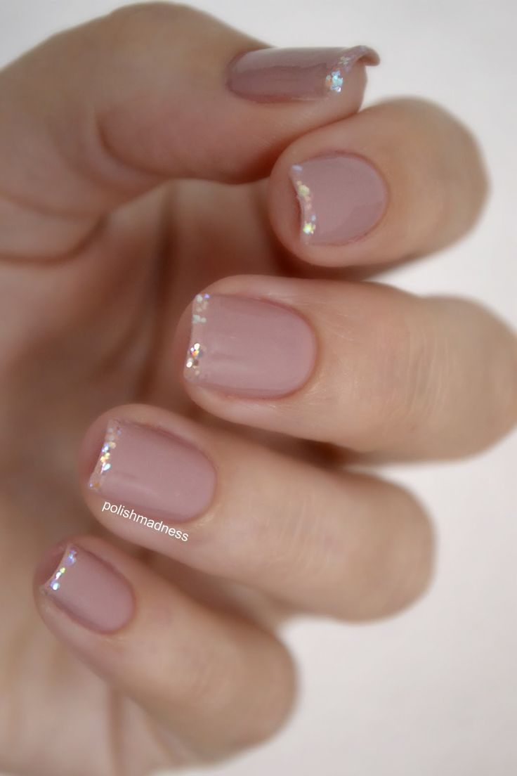 50 Amazing French Manicure Designs – Cute French Nail Art | Styles ...